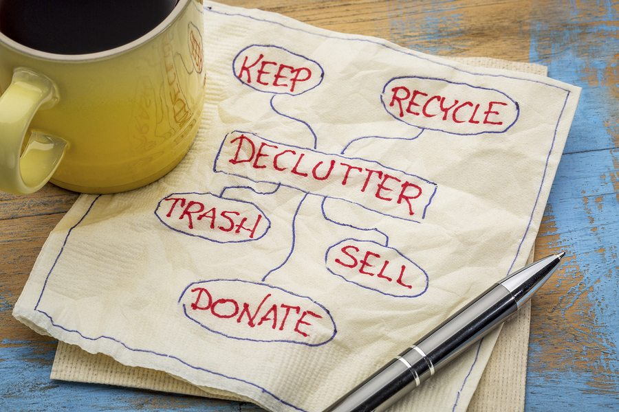 5 Rules to Make Your Downsizing and De-Cluttering Process Easier